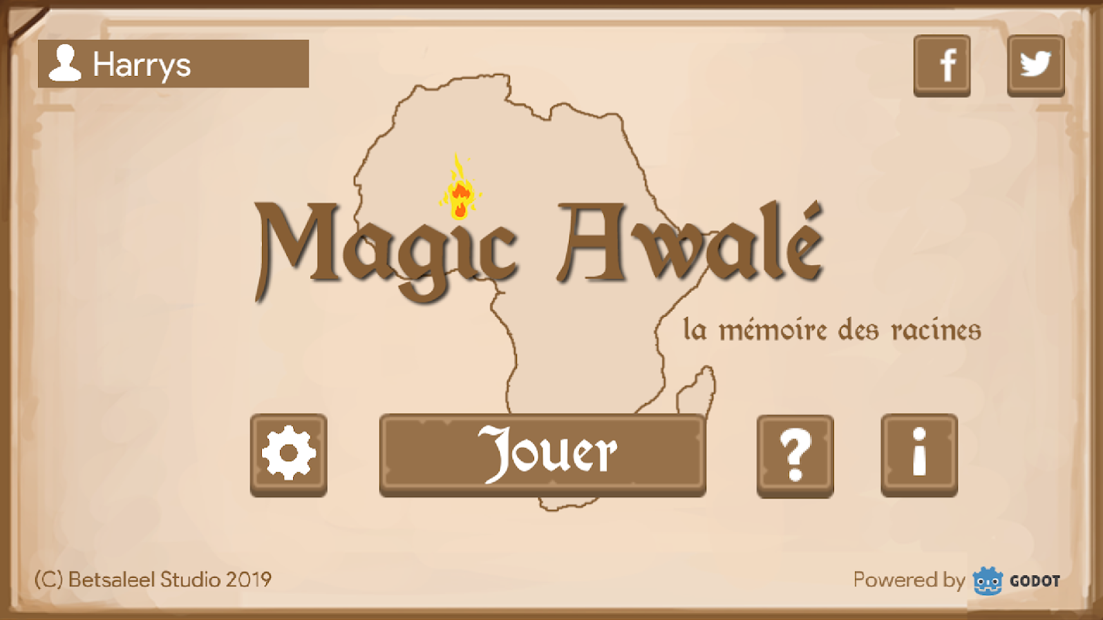 Magic awalé cover