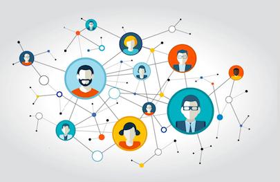 Un réseau d'individus