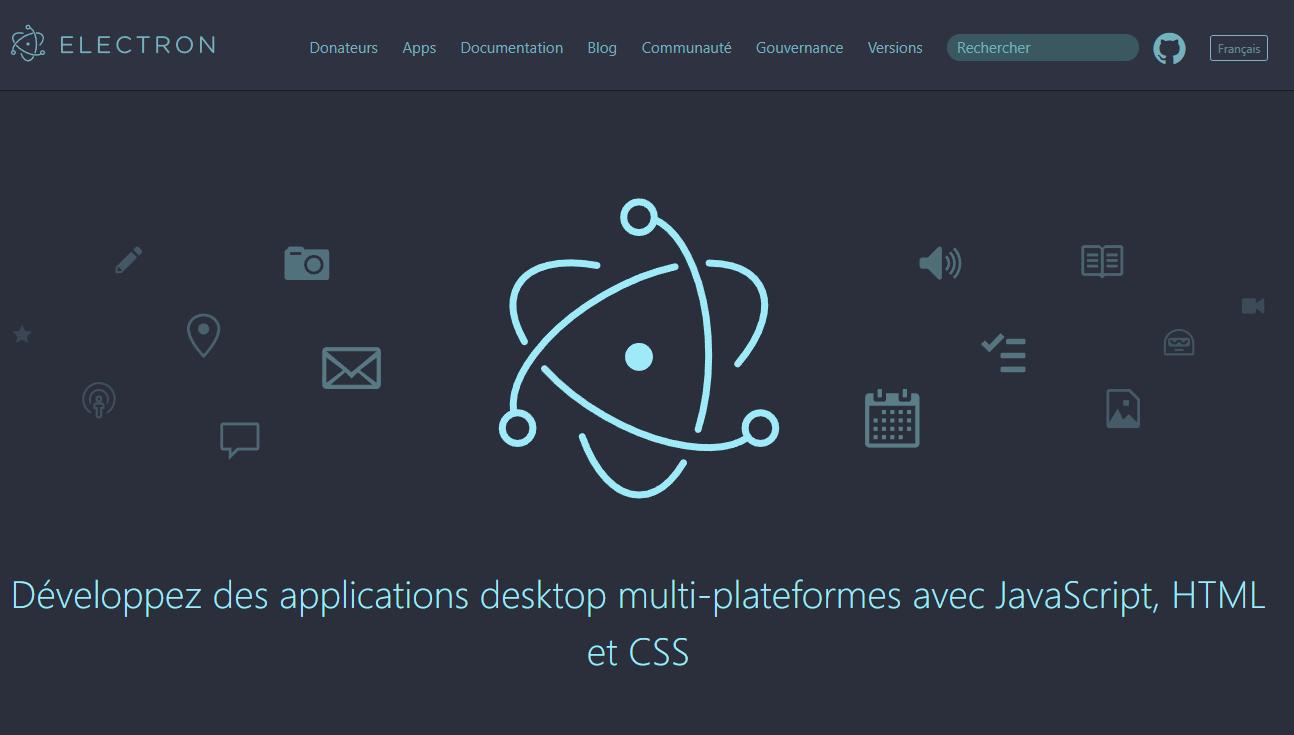 Développez des applications desktop multi-plateformes avec JavaScript, HTML et CSS avec Electron