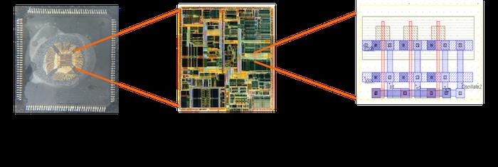 Du boîtier aux transistors