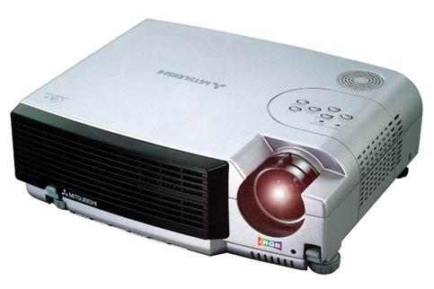 Photo d'un vidéo-projecteur portable