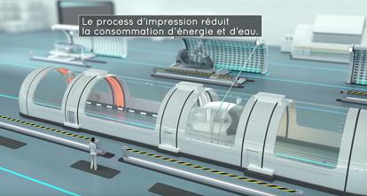 L'usine du futur par le groupe PSA (Source : PSA)