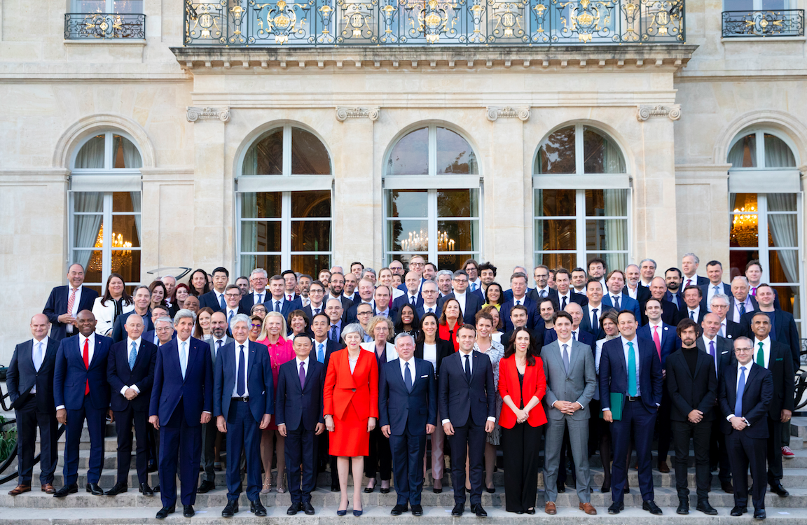 Tech4Good, hosted by Président Macron