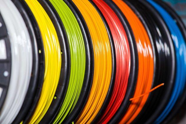 Fils d'ABS de différentes couleurs pour imprimante 3D