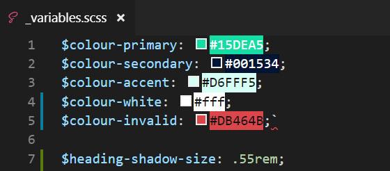 Image illustrant le fichier variables à couper
