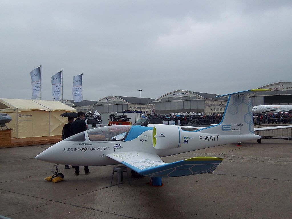 E-Fan, prototype d'Airbus Group