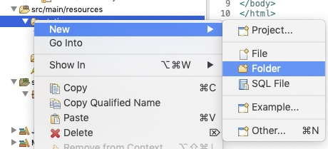 Create Error Folder