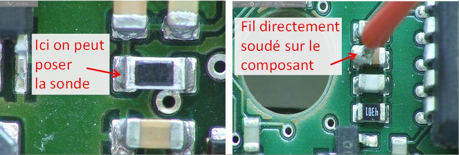 Deux solutions possibles pour commencer à tester un PCB.
