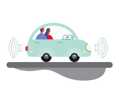 Un véhicule autonome