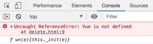 Dans la console Javascript