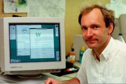 Photographie de Tim Berners-Lee