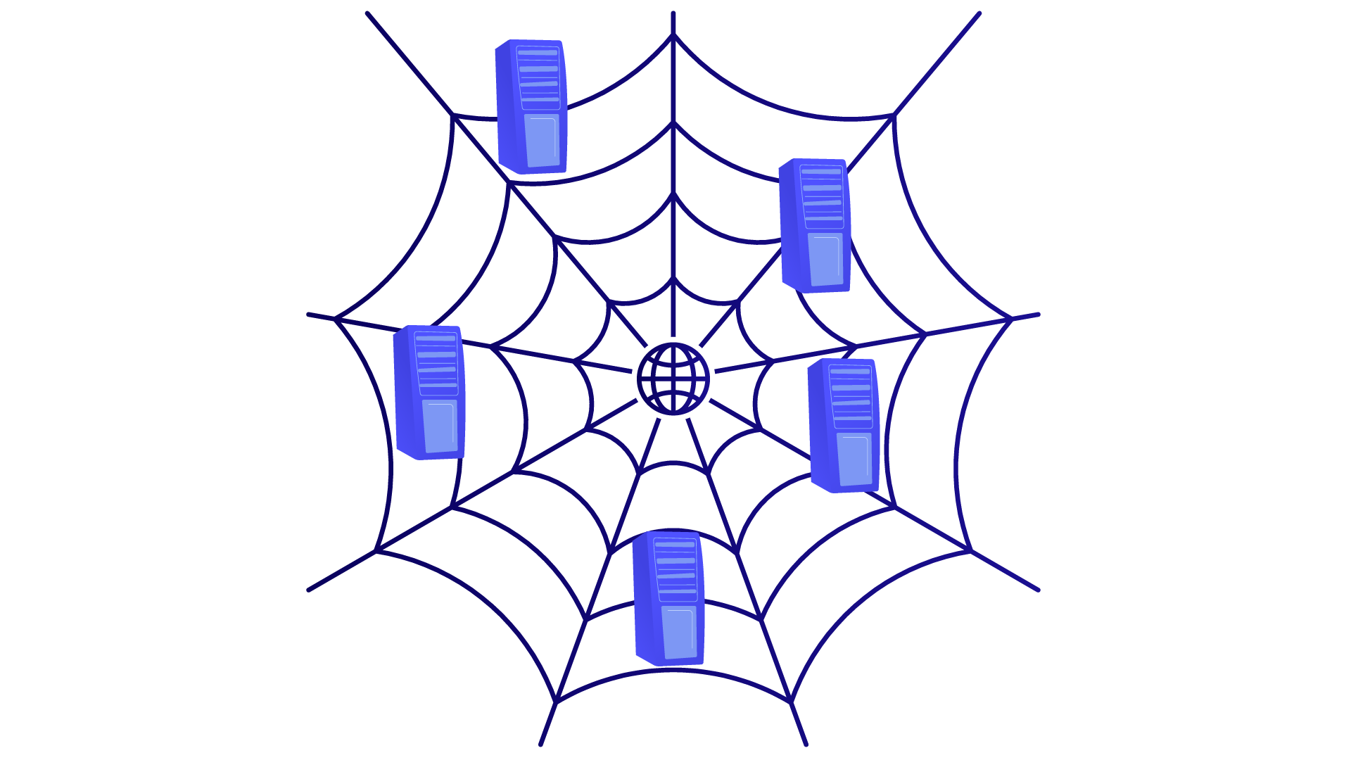 Le Web est une toile d'araignée au sein de laquelle les machines communiquent.