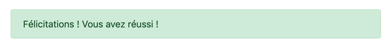 Exemple de composant d'alerte de Bootstrap