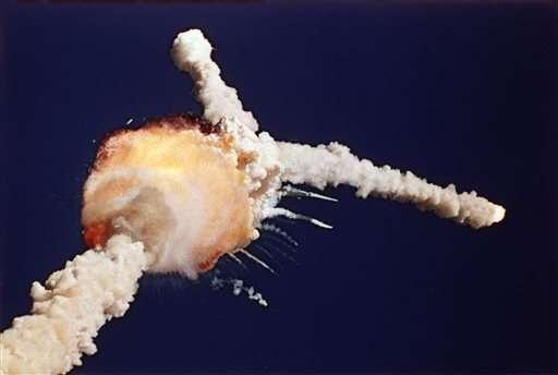 Explosion de la navette Challenger