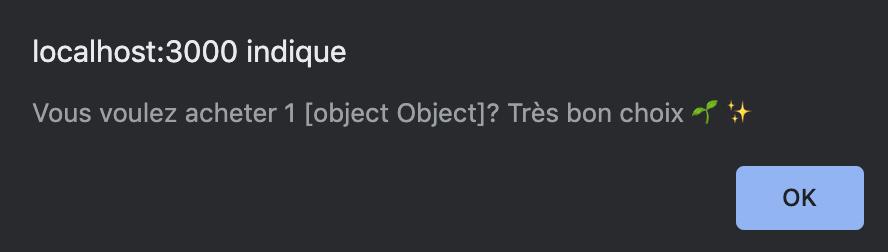 Aucune de nos plantes ne s'appelle 1 [object Object] 🤔