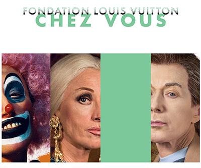 Screnshoot d'une newsletter envoyée par la Fondation Louis Vitton