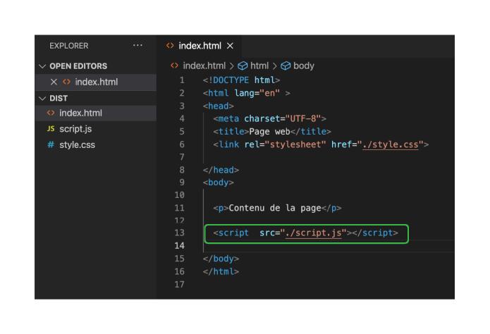 Capture d'écran d'un terminal de commande